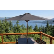 Parasol 9' Market Umbrella; Black