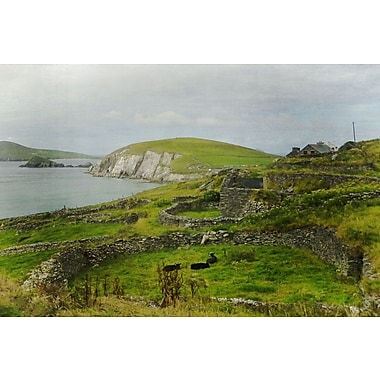 Graffitee Studios Around the World Stonewalled in Ireland Gallery Photographic Print on Canvas