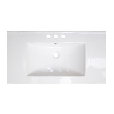 American Imaginations Drop-in 36'' Single Bathroom Vanity Top