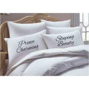 RK Grace 2 Piece Prince Charming/ Sleeping Beauty Pillowcase Set