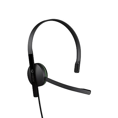 Microsoft S5V-00001 Chat Headset, Xbox One, Black