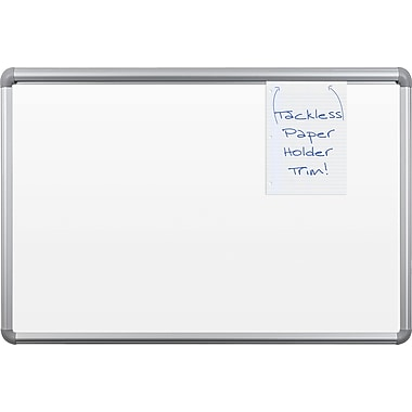 Best-Rite Best-Brite, 4' x 3', Thermally Fused Dry Erase Surface Dry-Erase Board (2H1PC-BT)