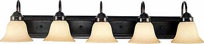 Aurora Lighting A19 Bath Vanity Lamp, Antique Bronze(STL-VME816480)