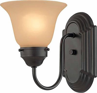 Aurora Lighting A19 Bath Vanity Lamp, Antique Bronze(STL-VME816534)