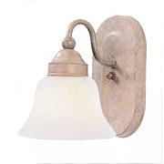 Aurora Lighting A19 Bath Vanity Lamp, Prairie Rock(STL-VME716618)