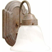 Aurora Lighting A19 Bath Vanity Lamp, Prairie Rock(STL-VME713419)