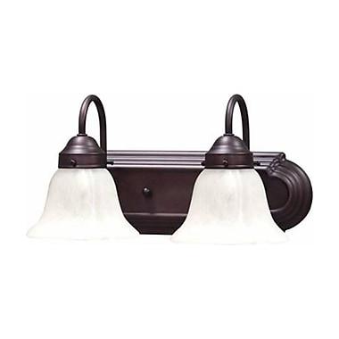 Aurora Lighting A19 Bath Vanity Lamp, Antique Bronze(STL-VME913420)