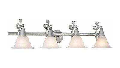 Aurora Lighting A19 Bath Vanity Lamp, Platinum Rust(STL-VME517741)