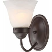 Aurora Lighting A19 Bath Vanity Lamp, Antique Bronze(STL-VME915714)