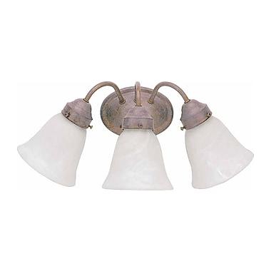 Aurora Lighting A19 Bath Vanity Lamp, Prairie Rock(STL-VME215739)