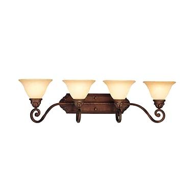 Aurora Lighting A19 Bath Vanity Lamp, Italian Dusk(STL-VME158647)