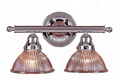 Aurora Lighting A19 Bath Vanity Lamp, Chrome(STL-VME316320)