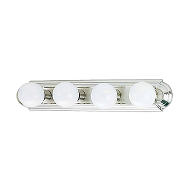 Aurora Lighting G25 Bath Vanity Lamp, Brushed Nickel(STL-VME011249)