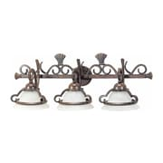 Aurora Lighting A19 Bath Vanity Lamp, Imperial Bronze(STL-VME931530)