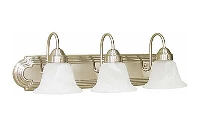 Aurora Lighting T3 COIL Bath Vanity Lamp, Brushed Nickel(STL-VME364536)