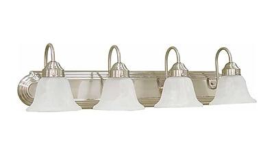 Aurora Lighting T3 COIL Bath Vanity Lamp, Brushed Nickel(STL-VME364543)