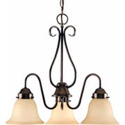 Aurora Lighting Compact Fluorescent Chandelier, Bronze (STL-VME765630)