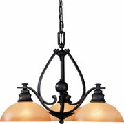 Aurora Lighting Incandescent Chandelier, Bronze (STL-VME541432)
