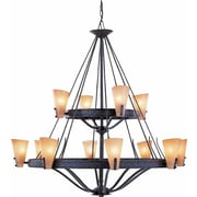 Aurora Lighting Incandescent Chandelier, Frontier Iron (STL-VME853320)