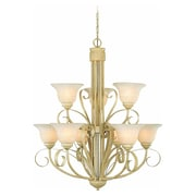 Aurora Lighting Incandescent Chandelier, Golden Coral (STL-VME733295)