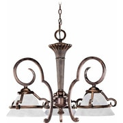 Aurora Lighting Incandescent Chandelier, Imperial Bronze (STL-VME931738)
