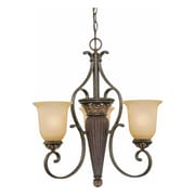 Aurora Lighting Incandescent Chandelier, Vintage Bronze (STL-VME222232)