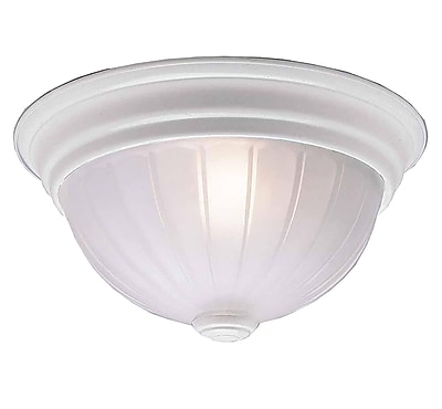 Aurora Lighting Incandescent Flush Mount, White (STL-VME678220)