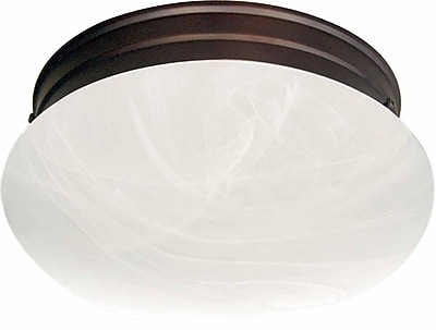 Aurora Lighting Incandescent Flush Mount, Antique Bronze (STL-VME077863)