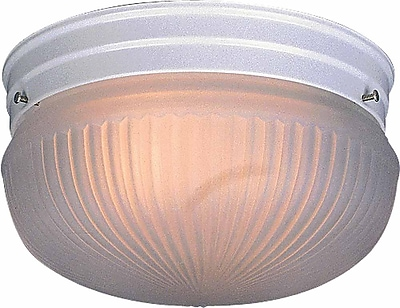 Aurora Lighting Incandescent Flush Mount, White (STL-VME670484)