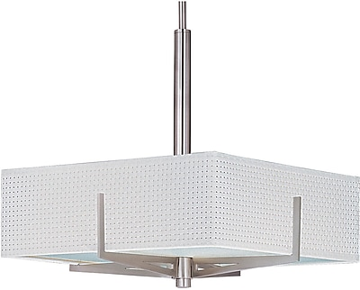 Aurora Lighting Xenon Flush Mount, Bronze (STL-ETE060703)