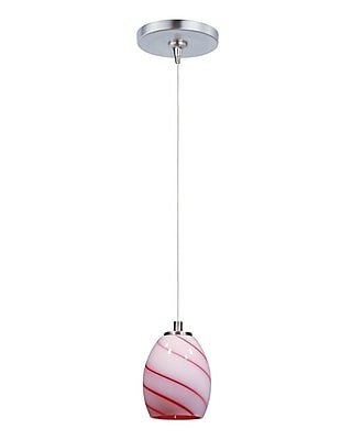 Aurora Lighting Xenon Pendant, Satin Nickel (STL-ETE051152)