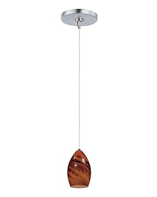 Aurora Lighting Xenon Pendant, Satin Nickel (STL-ETE051190)