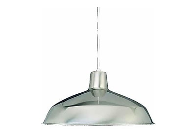 Aurora Lighting Incandescent Pendant, Brushed Nickel (STL-VME018194)