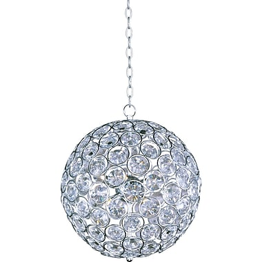 Aurora Lighting Xenon Pendant, Satin Nickel (STL-ETE044062)