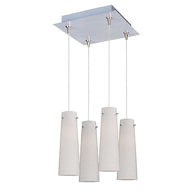 Aurora Lighting Xenon Pendant, Satin Nickel (STL-ETE057031)