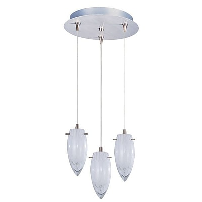 Aurora Lighting Xenon Pendant, Satin Nickel (STL-ETE056447)
