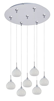 Aurora Lighting Xenon Pendant, Polished Chrome (STL-ETE047780)