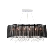 Aurora Lighting Incandescent Pendant, Black (HF1503-BLK)