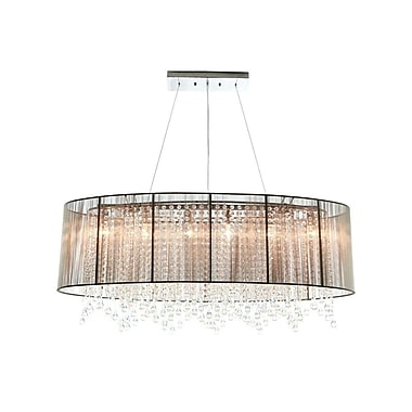 Aurora Lighting Incandescent Pendant, Taupe (HF1503-TP)