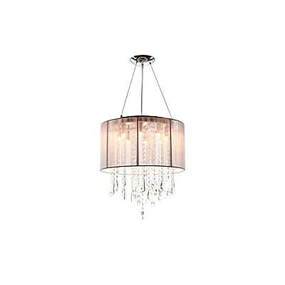 Aurora Lighting Halogen Pendant, Taupe (HF1501-TP)