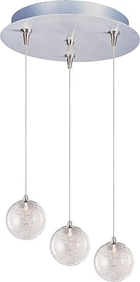 Aurora Lighting Xenon Pendant, Satin Nickel (STL-ETE056706)