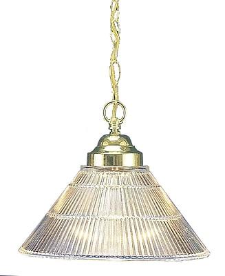 Aurora Lighting Incandescent Pendant, Polished Brass (STL-VME218068)