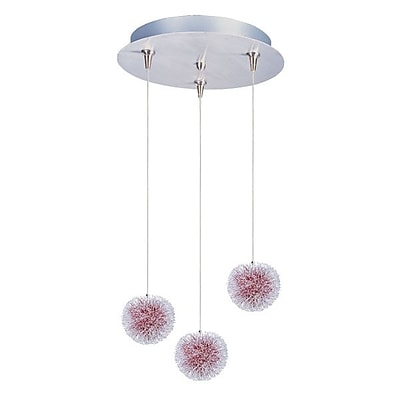 Aurora Lighting Xenon Pendant, Brushed Aluminum (STL-ETE056263)