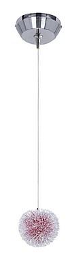 Aurora Lighting Xenon Pendant, Brushed Aluminum (STL-ETE050865)