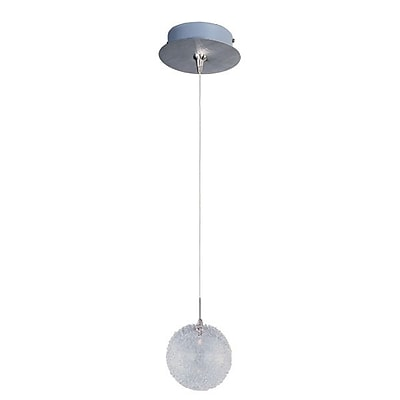 Aurora Lighting Xenon Pendant, Brushed Aluminum (STL-ETE055655)