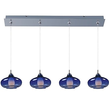 Aurora Lighting Xenon Pendant, Nickel (STL-ETE053910)