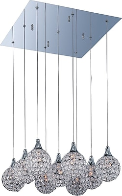 Aurora Lighting Xenon Pendant, Satin Nickel (STL-ETE044130)