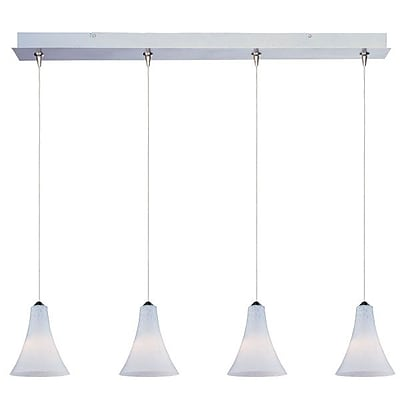 Aurora Lighting Xenon Pendant, Nickel (STL-ETE054030)