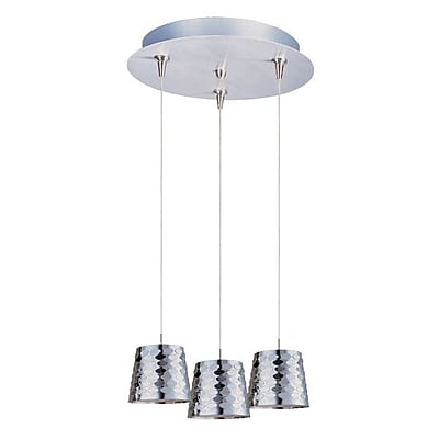 Aurora Lighting Xenon Pendant, Satin Nickel (STL-ETE056126)