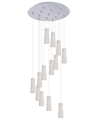 Aurora Lighting Xenon Pendant, Satin Nickel (STL-ETE051862)